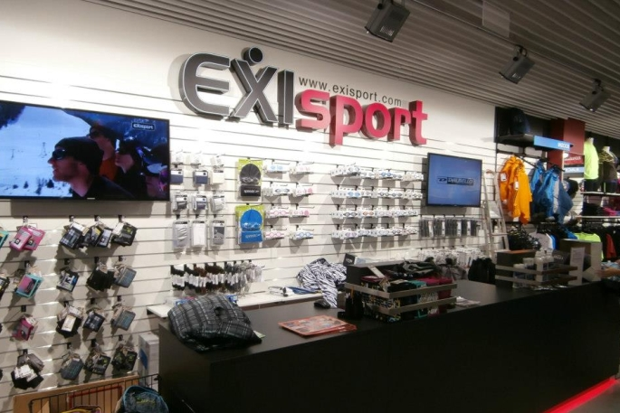 predajne Exisport
